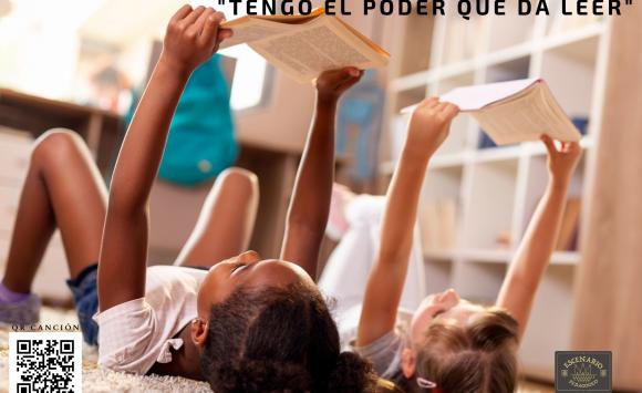 """Campaña """"Tengo el Poder que da Leer"""" para el Fomento de la Lectura."""
